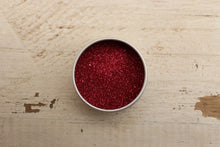 Load image into Gallery viewer, The Glitter Fairy Biodegradable Glitter Ruby Red