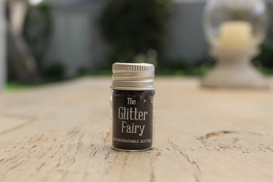 The Glitter Fairy Biodegradable Glitter Black