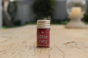 The Glitter Fairy Biodegradable Glitter Ruby Red