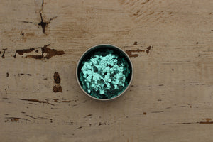 The Glitter Fairy Biodegradable Glitter Turquoise Ultra Chunky