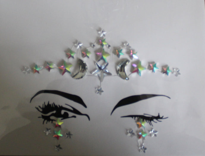 The Glitter Fairy Face Jewels - Cosmic Girl