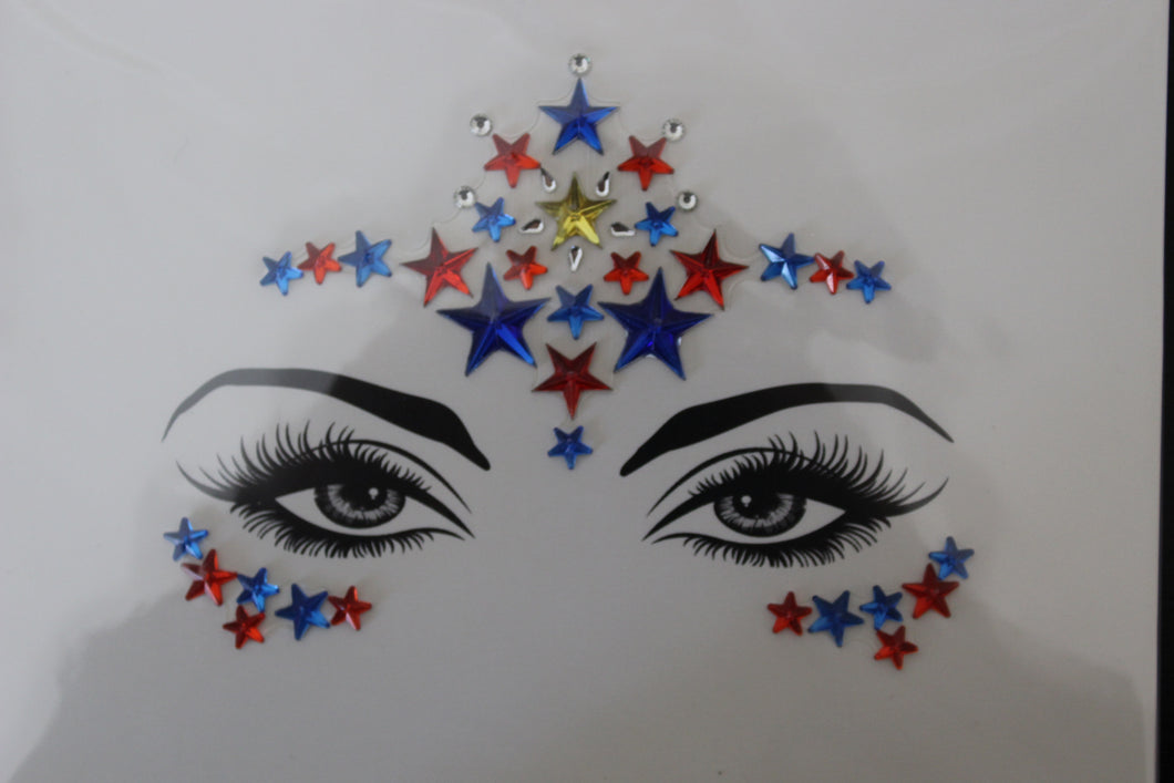 The Glitter Fairy Face Jewels - Keep Your Eyes on the Stars