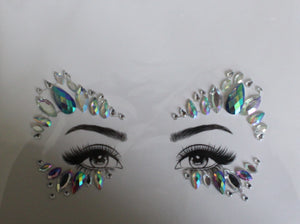 The Glitter Fairy Face Jewels - Owl Night Long