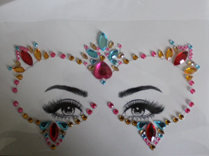The Glitter Fairy Face Jewels - Puurfect