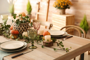 Tips for Setting Your Thanksgiving Table