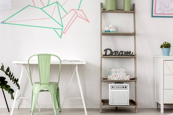 Design Hack - Use Colorful Washi Tape to Create Wall Art