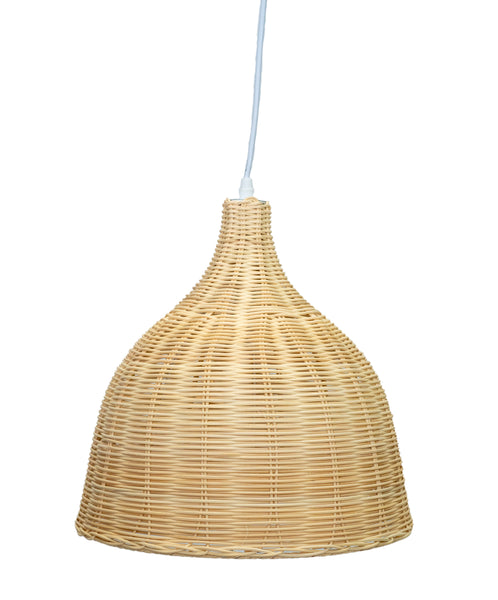 Rattan and other natural lighting will be popular in 2021
