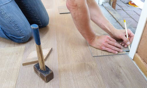 Living Through a Renovation - Floor Work