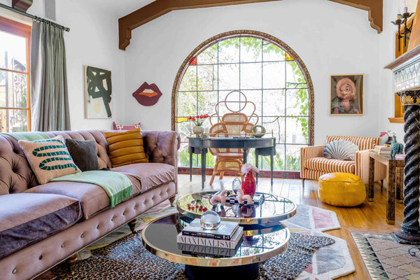 Maximalists mix color, pattern and textures artfully