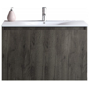 Otis 30 Inch Modern, Wall Mounted Floating Bathroom Vanity