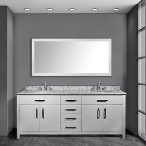 Joseph 72 Inch Grey Bathroom Vanity - Coming September