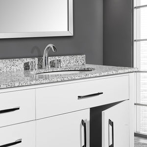 William 72 Inch White Vanity Bathroom Vanity - Coming September