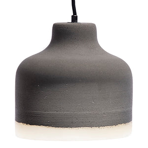 Portman Gray Concrete Modern Industrial Pendant Light
