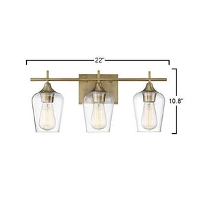 Emma - Gold Bathroom Vanity Light