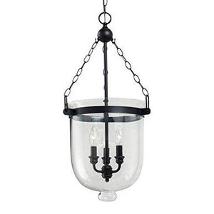 Westminster Glass Pendant Hanging Light Fixture - Modern Ceiling Light
