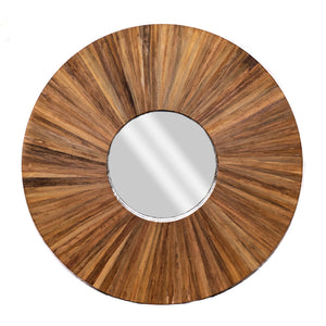 Rona Banana Leaf Mirror