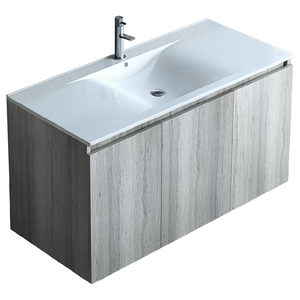 Ulysses 40 Inch Modern, Wall Mounted Floating Bathroom Vanity