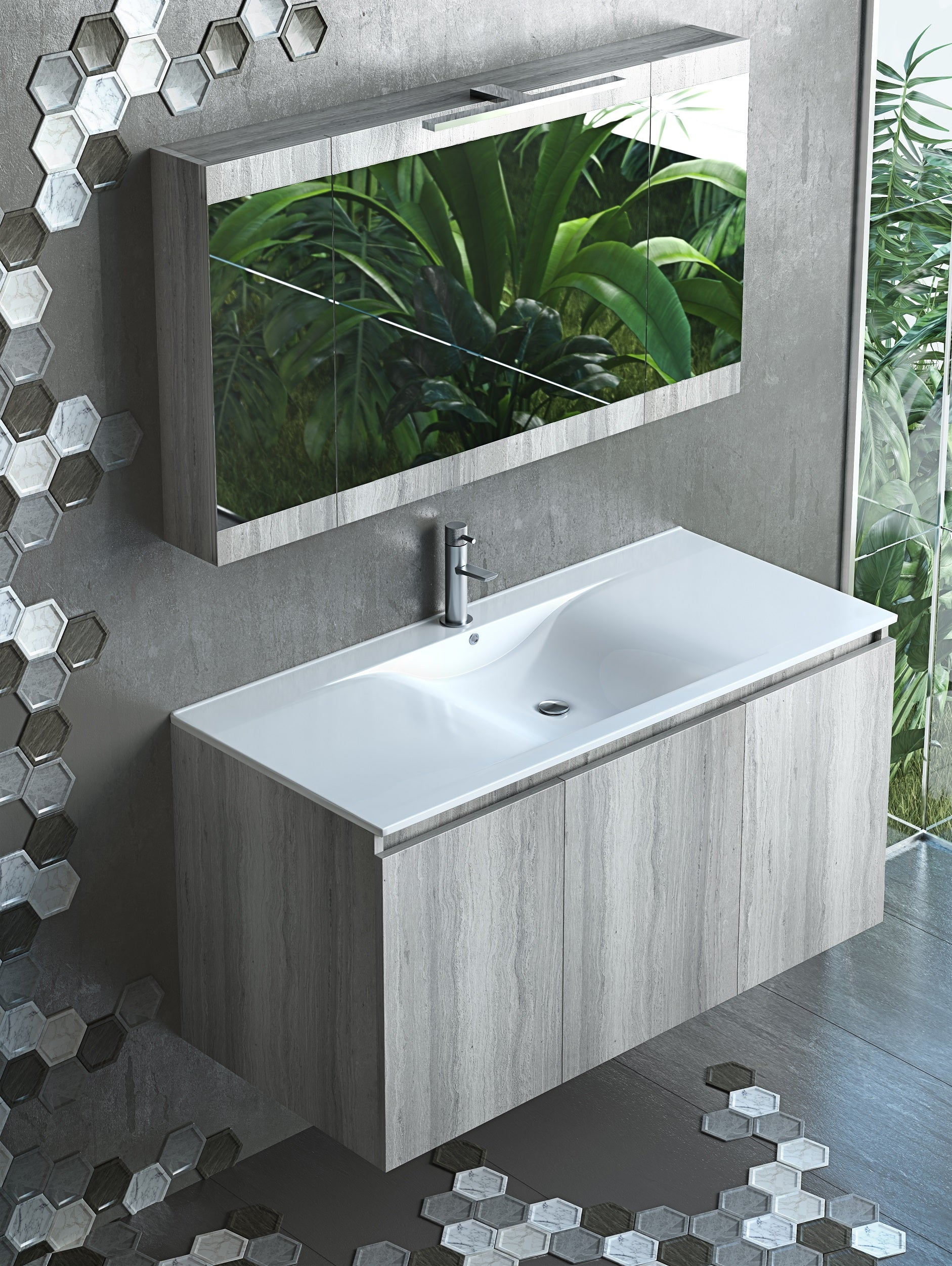 Apollo 36 Inch Modern Wall Mounted Floating Bathroom Vanity A Touch Of Design