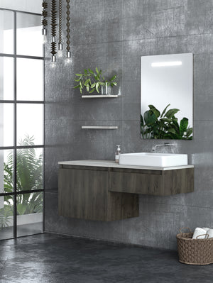 Odyssey 48 Inch Modern, Wall Mounted Floating Bathroom Vanity
