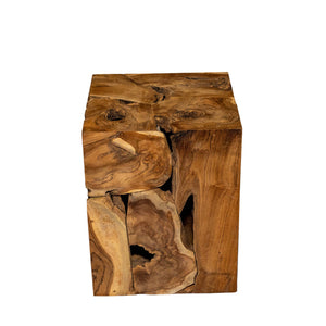 Hatta Recycled Teak End Table
