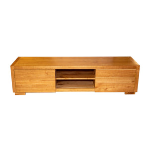 Tenso Mindi Wood Console Table