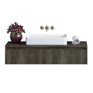 Titan 36 Inch Modern, Wall Mounted Floating Bathroom Vanity