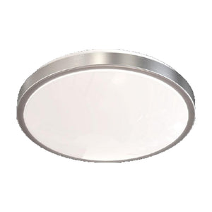 Large Flush Mount Ceiling Light with Aluminum with Matte Acrylic Shade Light Fixture