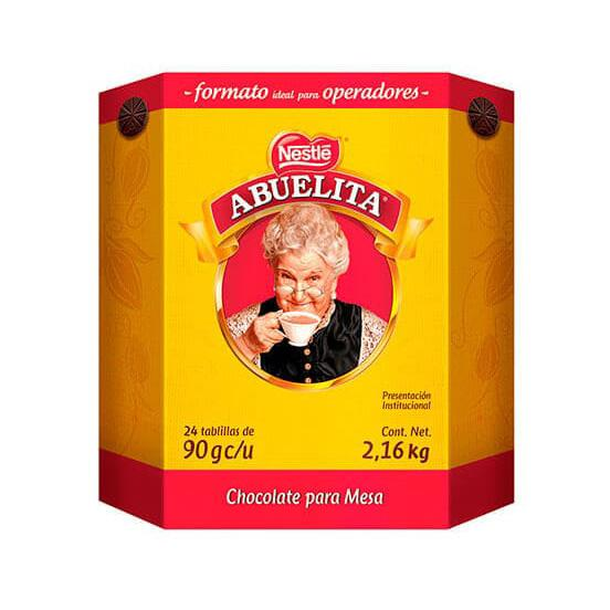 ABUELITA® pack de 24 tabletas de chocolate