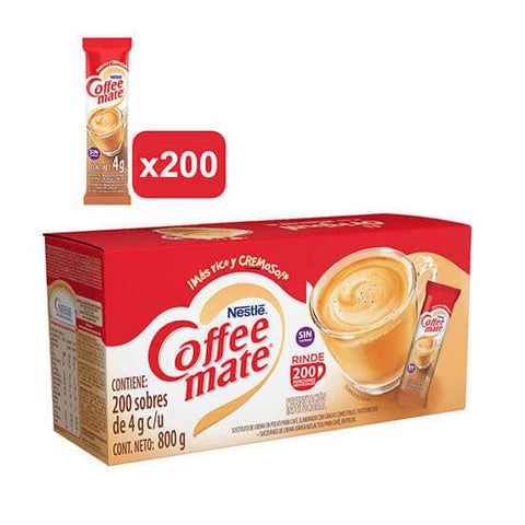 COFFEE MATE® Original 200 sobres de 4g