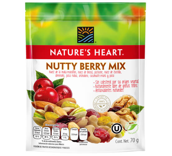Nutty berry mix 70 gr