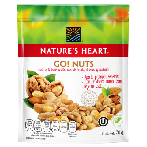 3 Go! nuts 70 gr