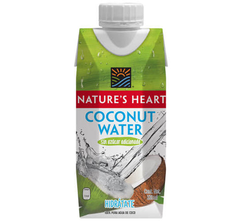 Nature's Heart Agua de coco 330 ml