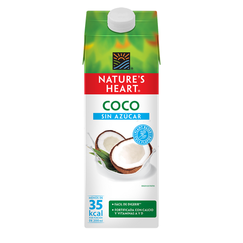 Nature's Heart Bebida de Coco sin azucar 946ml