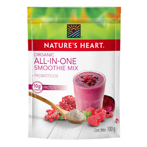 Nature's Heart Smoothie Organic All in one 100 gr