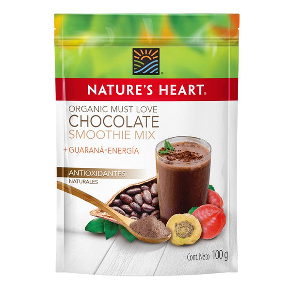 Nature's Heart Smoothie Organic Must love chocolate 100 gr