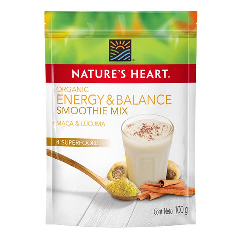 Nature's Heart Smoothie Organic Energy & balance 100 gr
