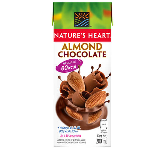 Nature's Heart Almendra chocolate 200ml