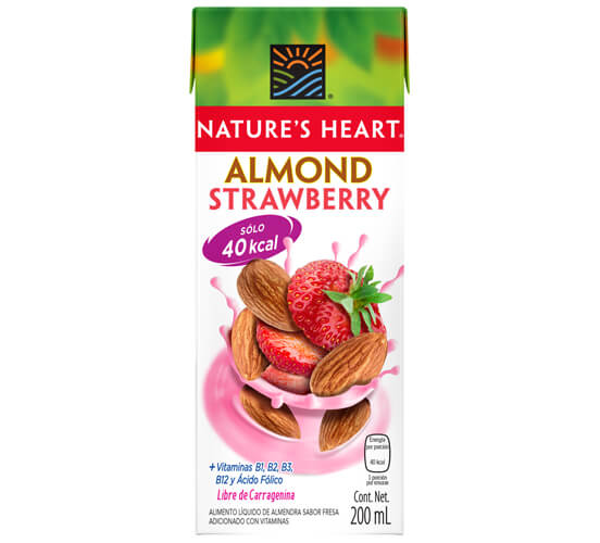 Nature's Heart Almendra fresa 200ml