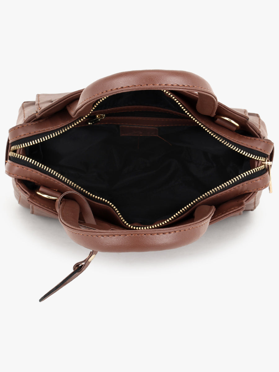 Tan Handheld Bag