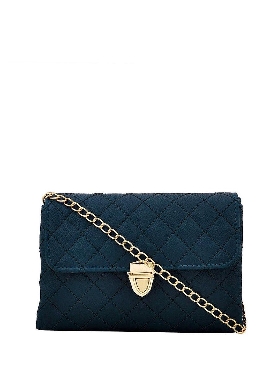 Yelloe Blue Sling bag