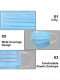 3 Ply Surgical Disposable Mask (Pack of 50)
