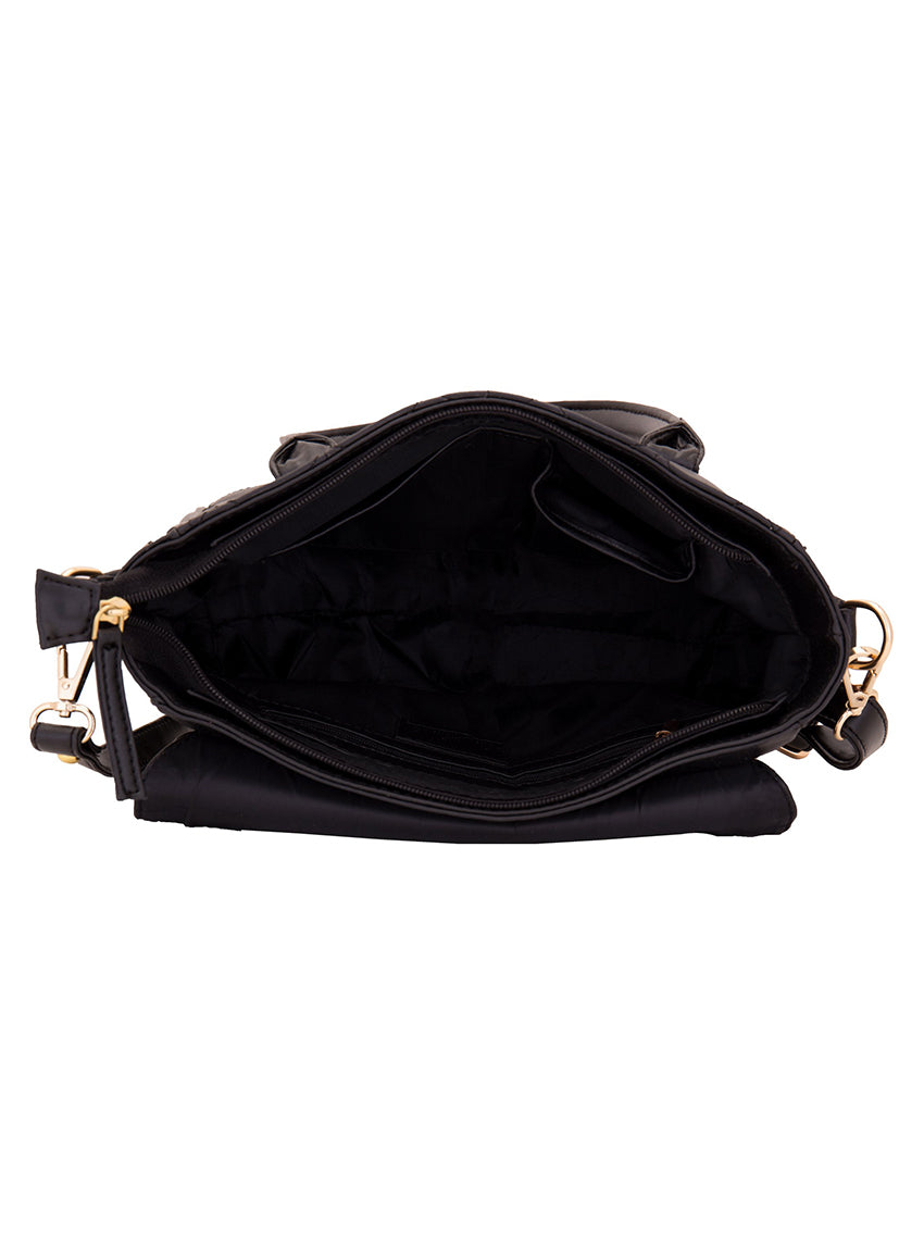 Yelloe Shoulder Bag Women Black