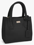Yelloe Royal Black Handbag For Women