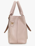 Pink Small handbag with front pocket