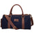 Yelloe Rugged Denim Duffel Bag (Blue)