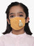 Kids 3 ply soft fabic Beanie Mask (Pack of 3)