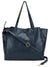 Multi compartment Blue Shoulder Bag