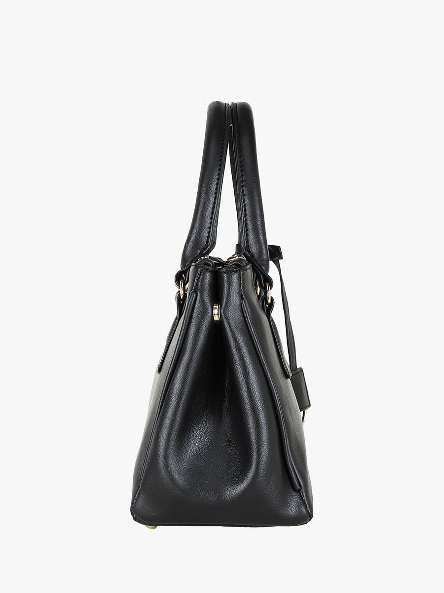 Black Handheld Bag