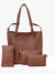 Four Combo Tote set in Tan