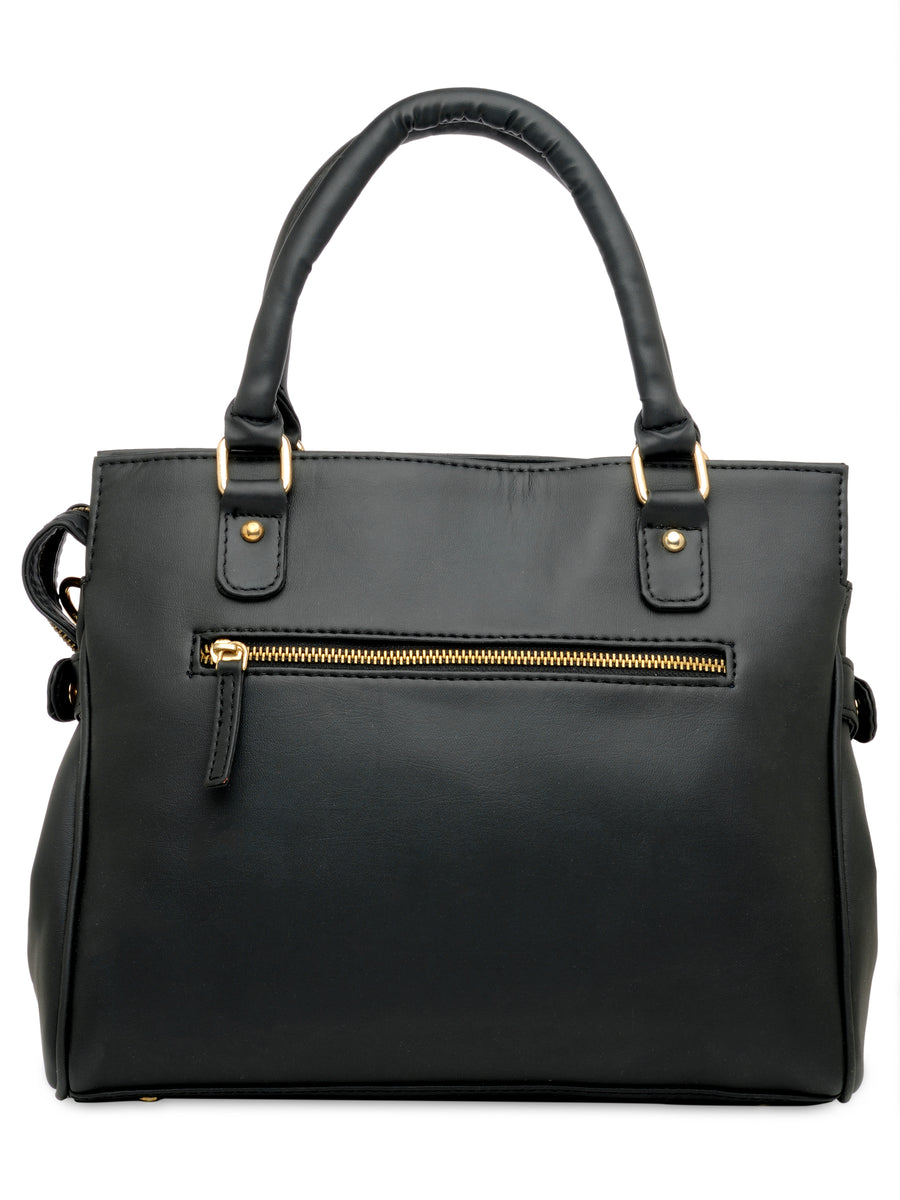 Yelloe Hand Bag Women Black